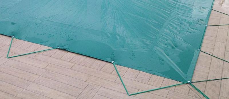 Copertura invernale AirCover gonfiabile per piscina