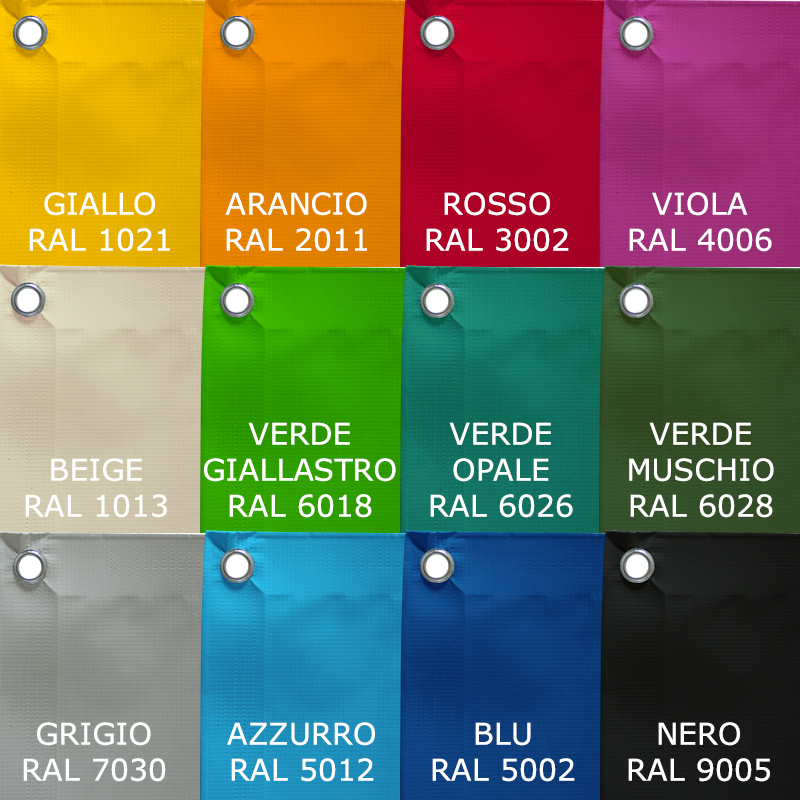 Colori disponibili Polartex