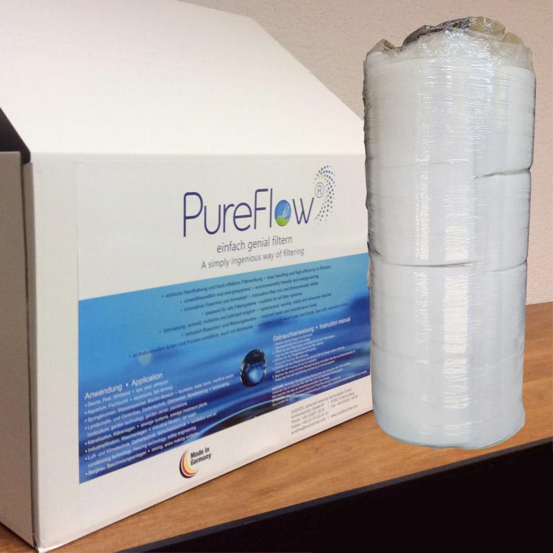 Filtrazione piscina Fibalon fibre poliestere