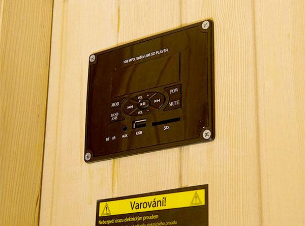 Sauna a raggi infrarossi Corinna