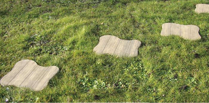 Camminamento Passo Teddy in pietra ricostruita made in italy