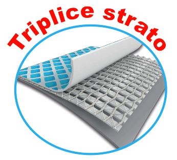 triplice strato Piscina Fuori Terra INTEX Metal Frame