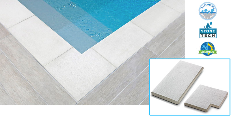 Bordo per piscina Capri by Autentika