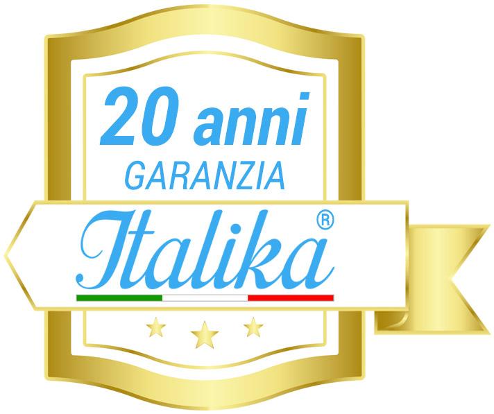 Garanzia piscina ITALIKA Steel