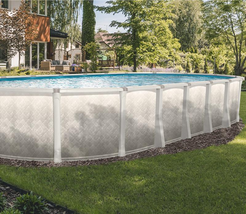 Infografica installazione piscina