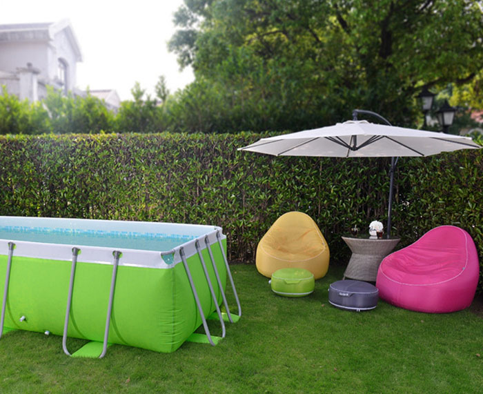 Poltrona a sacco gonfiabile AVENLI per giardino, piscina e casa