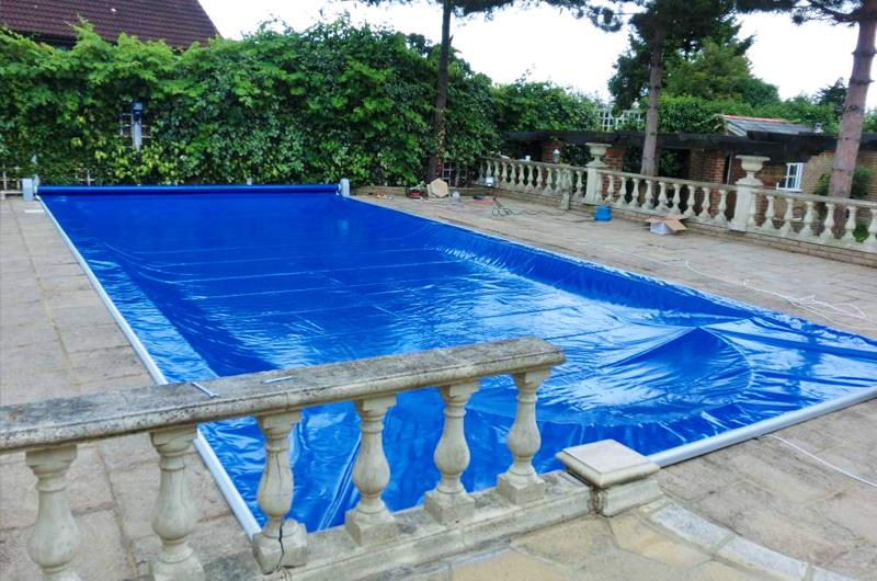 Copertura di sicurezza piscina