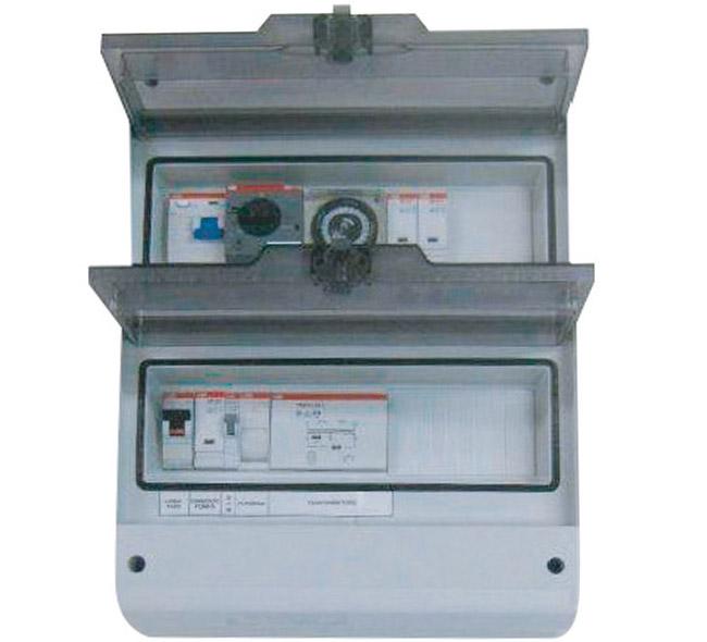 Quadro elettrico per filtrazione a sfioro
