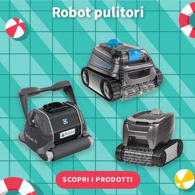 SALDI ESTIVI 2021 - Robot piscina