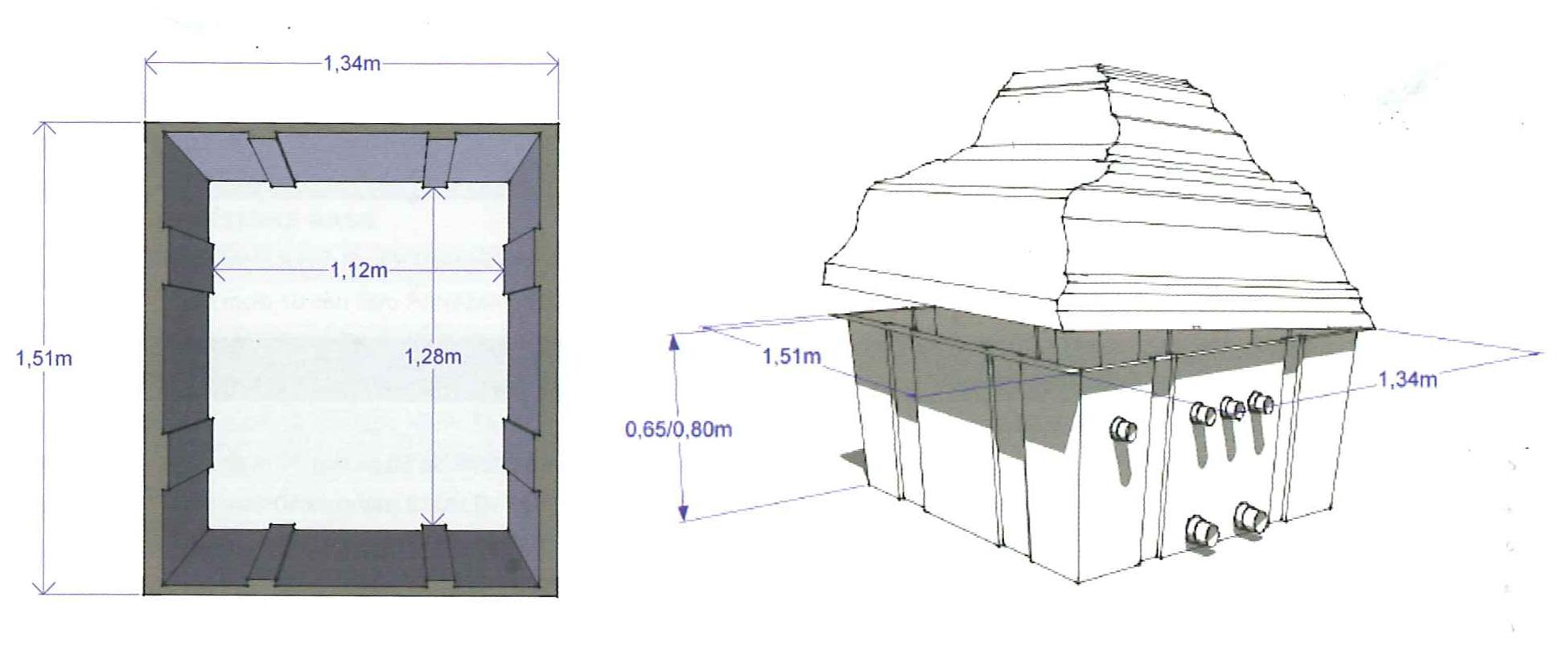 DImensioni locale tecnico piscina roc