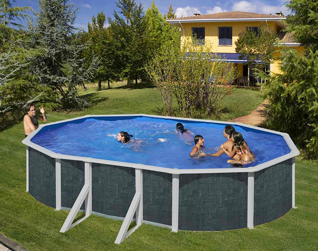 Piscina in simil Rattan Gre