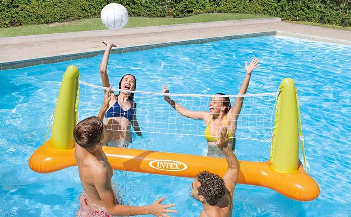 Rete pallavolo per piscina gonfiabile