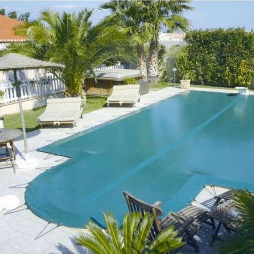Copertura invernale per piscina di sicurezza