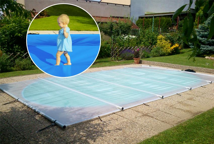 Copertura di sicurezza per piscina SAFETY 4 stagioni