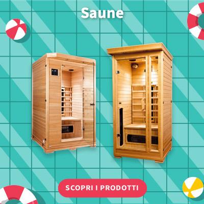 SALDI ESTIVI 2021 - Saune