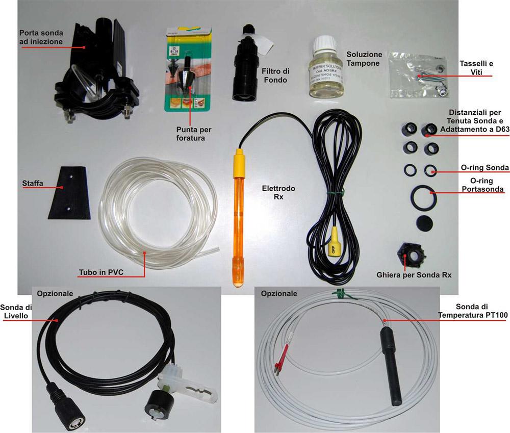 Kit Installazione Pompa Dosatrice SIMPOOL RX
