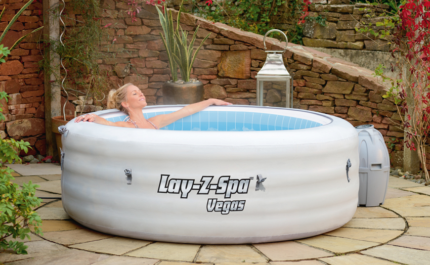 Vasca Idromassaggio spa Bestway Lay-Z premium