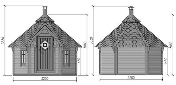 misure sauna loki