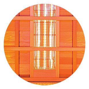 Sauna infrarossi Asgard - Riscaldamento a infrarossi