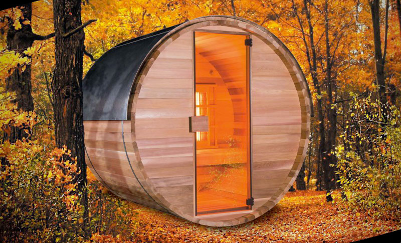 Sauna a raggi infrarossi Asgard