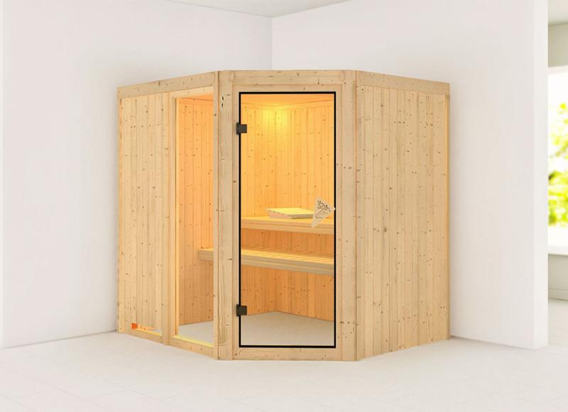 Sauna finlandese tradizionale FIONA2, porta