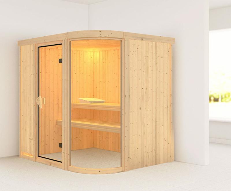 Sauna finlandese tradizionale PARIMA2, porta