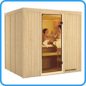 Sauna finlandese tradizionale SODIN solo sauna