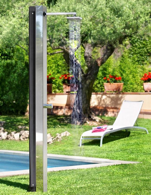 Doccia solare Niagara 30 litri, per giardino e piscina