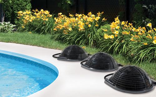 Collettore solare piscina