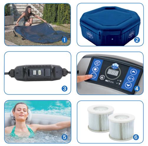 Accessori piscina spa MALIBU