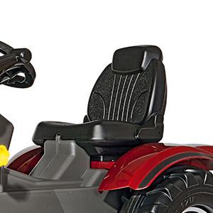 Trattore a pedali per bambini Valtra con sedile