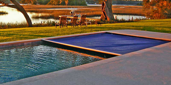 Copertura di Sicurezza per piscina Polartex 4 SEASONS UNDERTRACK automatica