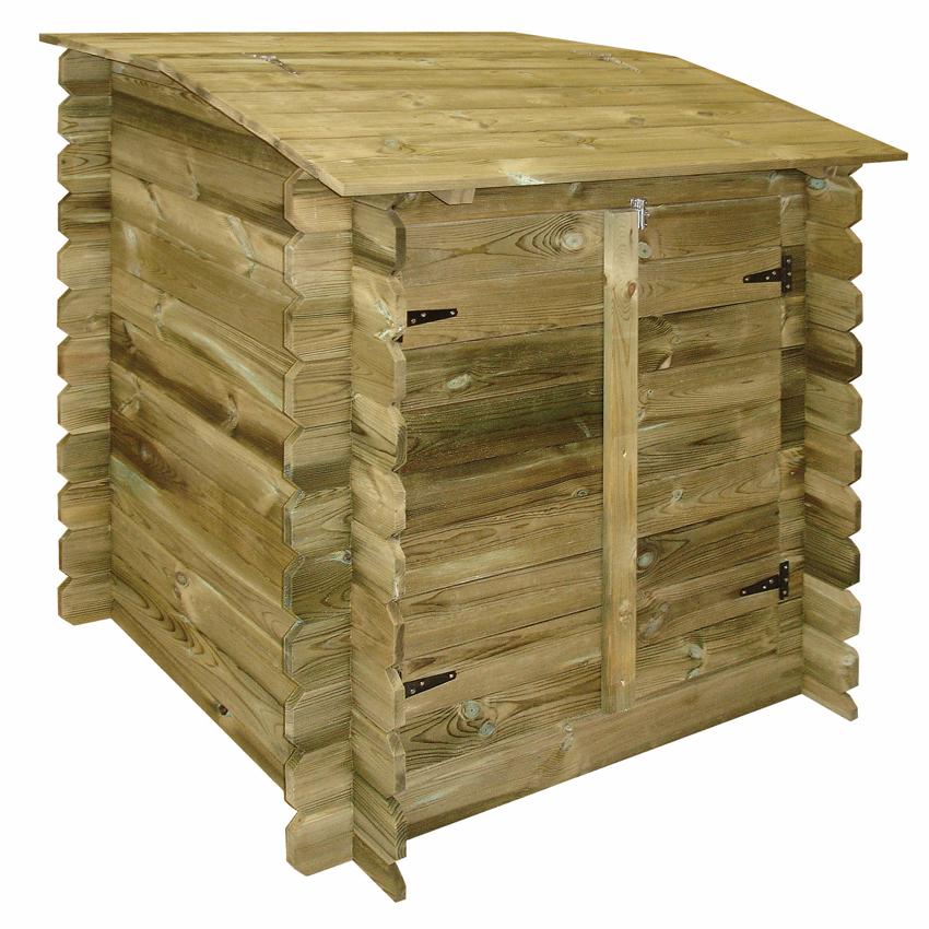 Locale tecnico in legno per piscine fuori terra northwood - Filtri per piscine fuori terra ...