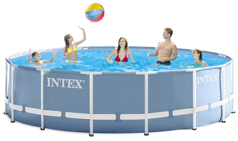 Piscina fuori terra Metal Frame by Intex