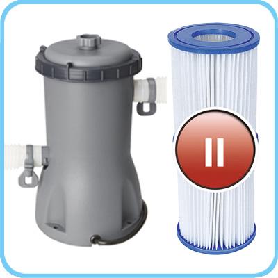 Piscina fuori terra Bestway STEEL FRAME Rotonda accessori filtro 56447