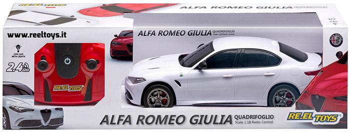 Macchina radiocomandata ALFA ROMEO GIULIA QUADRIFOGLIO