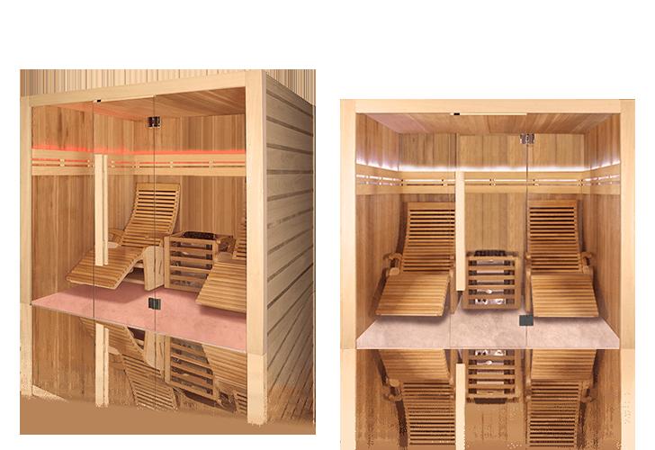 Sauna tradizionale Alto Vap