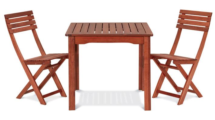 Tavolo Da Esterno In Legno Di Keruing Ribes 80x80 H72 Cm Bsvillage Com