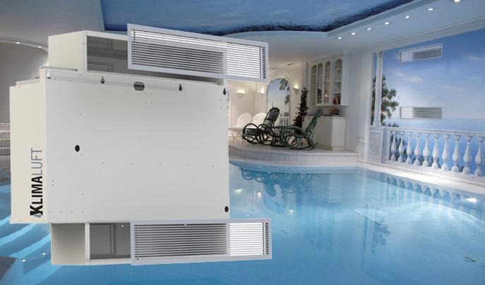 Deumidificatore a muro dcs s per piscine for Deumidificatore funzionamento