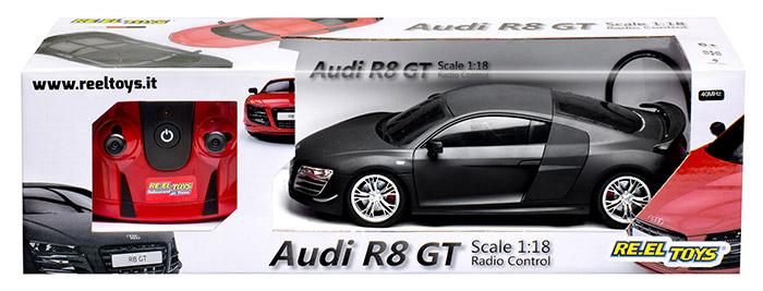 Macchina radiocomandata RE.EL Toys AUDI R8 GT scala 1:18