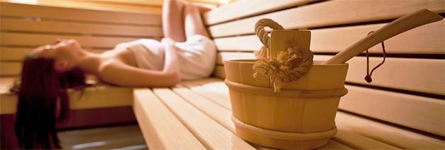 Benefici sauna finlandese a vapore