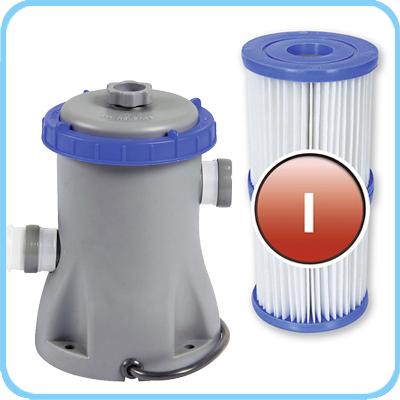 Piscina fuori terra Bestway STEEL FRAME Rotonda accessori filtro a cartuccia