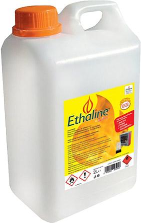 Bioetanolo liquido EHTALINE da 2 l - Confezione da 48 taniche