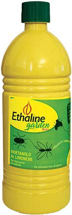 Bioetanolo liquido EHTALINE Garden da 1 l - Confezione da 98 flaconi