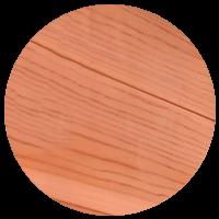 Cedro rosso canadese per la sauna a infrarossi