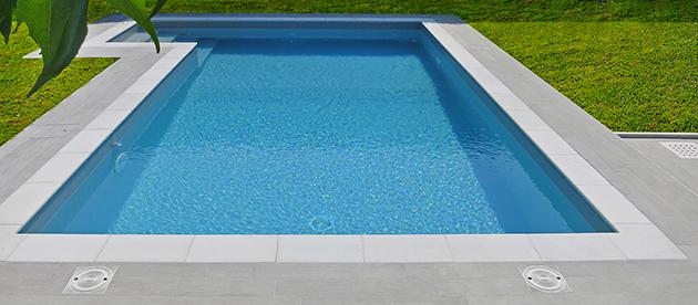 Bordo piscina impermeabile bianco Autetika