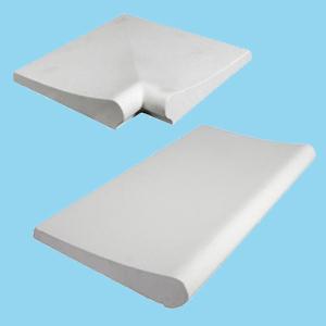 kit bordo piscina bianco liscio