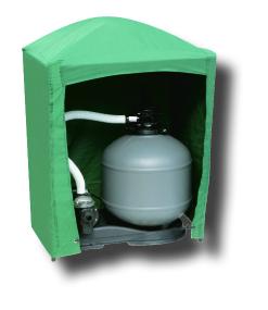 Locale tecnico Box protettivo impermeabile per gruppi filtranti