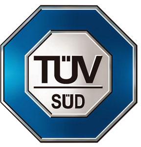 Certificazione TUV piscine fuori terra AZURO