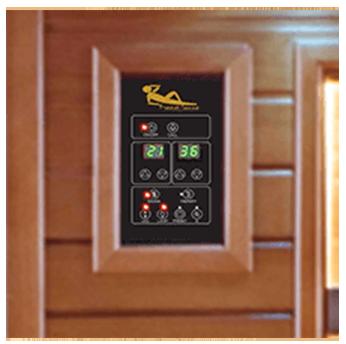 Pannello di controllo display Sauna Spectra